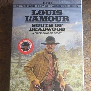 Louis L'amour South of Deadwood Books on Tape -New